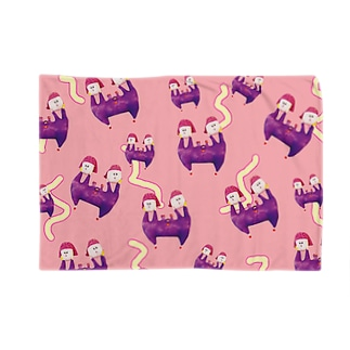 ガラガラ!みちこ&まちこ! Blankets