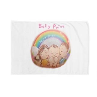 赤ちゃんと虹のベリーペイント Blankets