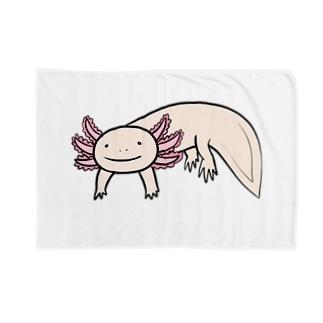 かわいいウーパールーパー Blankets