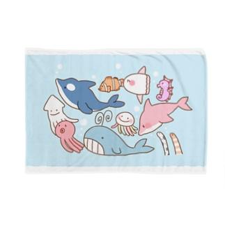 海のお友達 Blankets