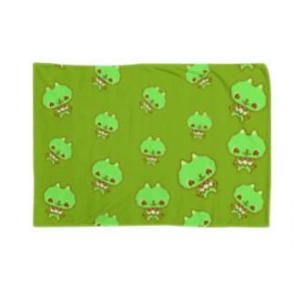 るるちゃん(グリーン) Blankets