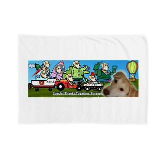 雑種犬まるちゃん++のまるちゃんのあいてむ オールスターズ Blankets