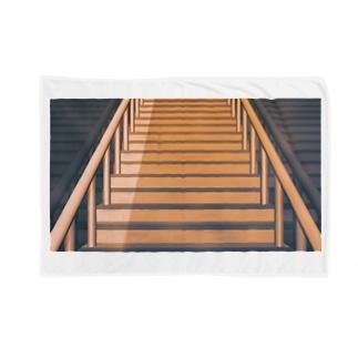 階段(上り) Blankets