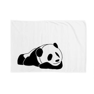 ジャパニーズスタンダードのおやすみパンダ Blankets
