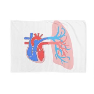 とにかく心臓(with肺) Blankets