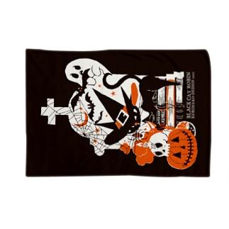 Halloweenろびんちゃん Blankets