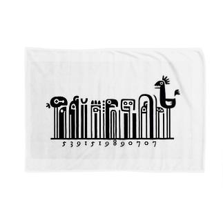 バーコード Blankets