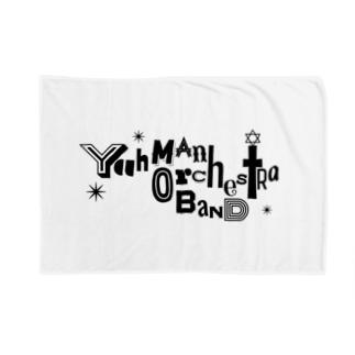 Yah Man Orchestra Band ロゴ Blankets