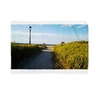 海へと続く道 Blankets