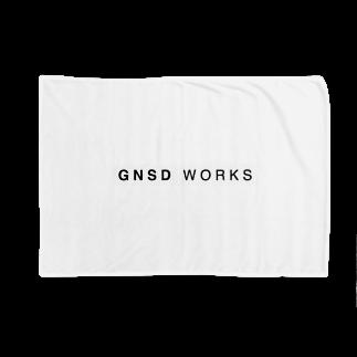 gnsdworksのGNSD WORKS ロゴブランケット