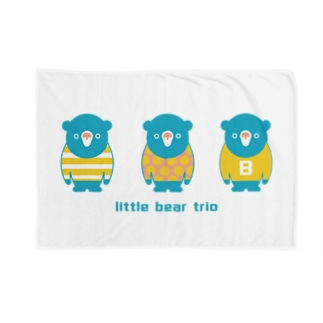 子熊のトリオPOP Blankets