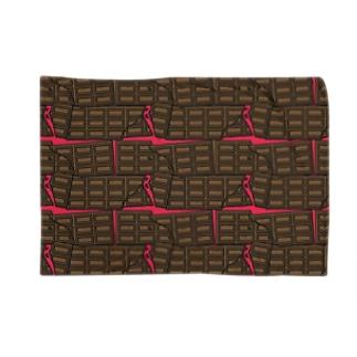 CRASH CHOCOLATE Blankets