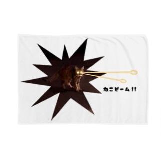 ねこビーム!! Blankets