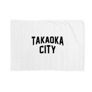高岡市 TAKAOKA CITY Blankets