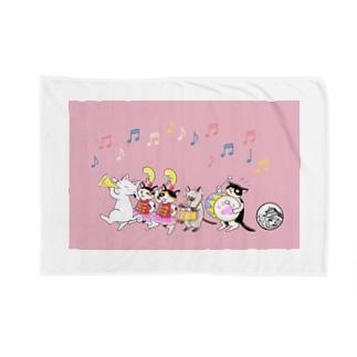 猫パレード♪コラボグッズ Blankets