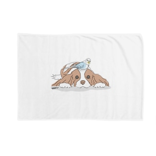 インコとワンコ Blankets