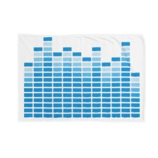 Spectrum Analyzer Blue Blankets