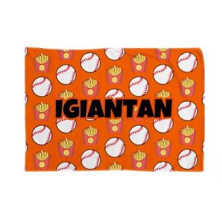IGIANTAN オレンジ Blankets