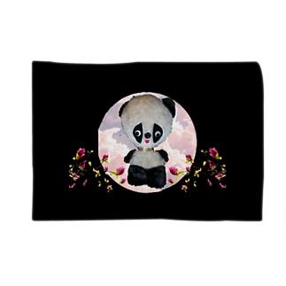 てる子さんのパンダ Blankets