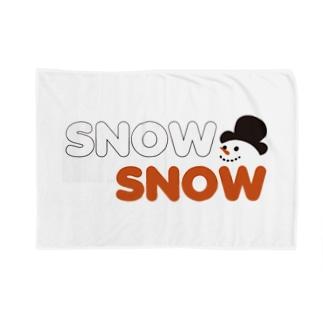 スノースノー Blankets