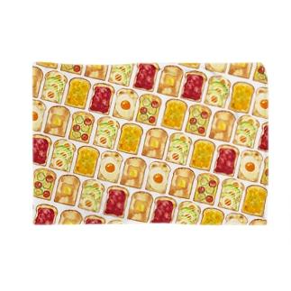 トースト柄ブランケット Blankets
