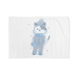 冬猫 Blankets