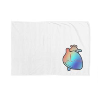とにかく心臓(SRレインボー!) Blankets
