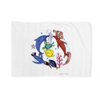 大介の水族館 Blankets