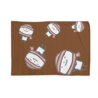 秋冬ニコさん(チョコレート) Blankets