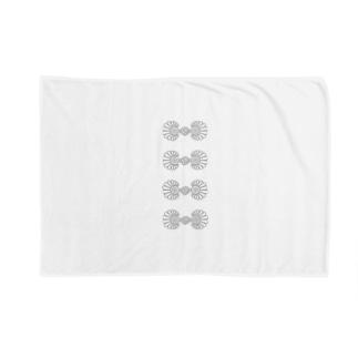 チャイナボタン風02  Blankets
