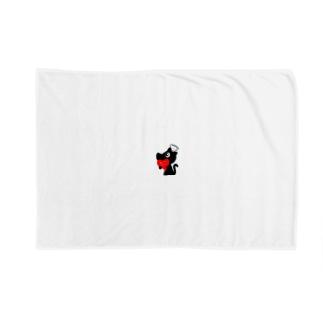 MASAHARUほっこりペイント~トランプ君シリーズNo.1 Blankets