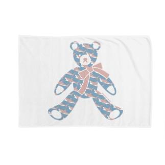 〈 #みんなSAME 009/365 〉テディベア好きのためのSAME Blankets
