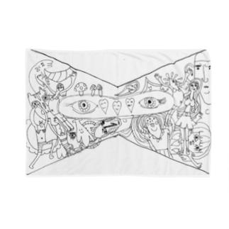 カオスなリボン Blankets