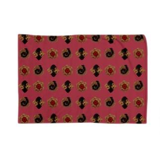 毛糸のミニクッキー パターン Blankets