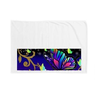 闇夜に舞う蝶たち Blankets