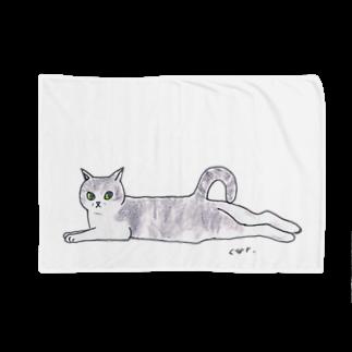 CUROGNACの100nyans016.musashinocat(mu) Blankets