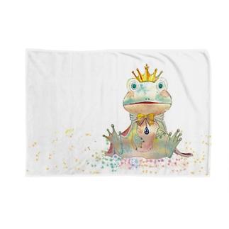 カエル王子 Blankets