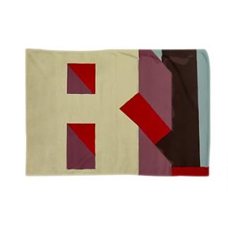 Shadow Type - Industrial B  Blankets