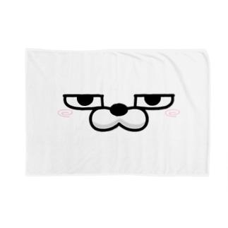 ananet@擦れうさぎの顔だけ擦れうさぎ Blankets