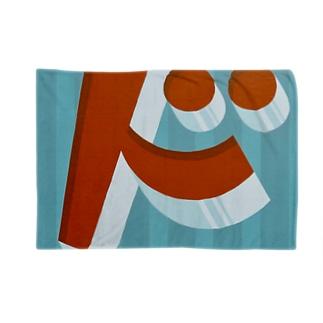 ビックリ顔の'ド' Blankets