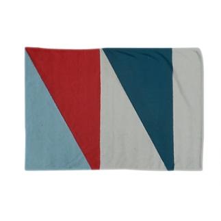 Geometric Letter series - Berry Mint 'M' Blankets