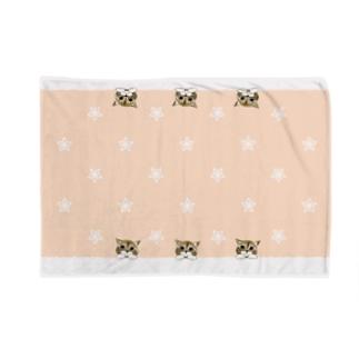 一緒にいたいネコ(ピンク) Blankets