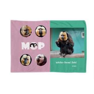 シロガオサキのモップくん Blankets