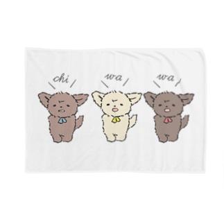 ちわとりお Blankets