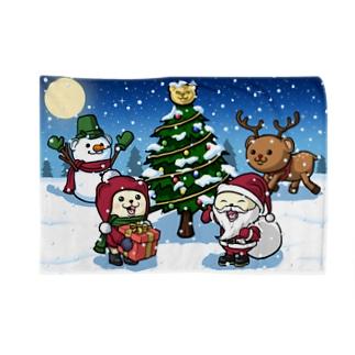 (12/25までの限定)クリスマスれぷくま ブランケット Blankets