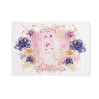 BassetMANIA luxuryFlower シリーズ Blankets