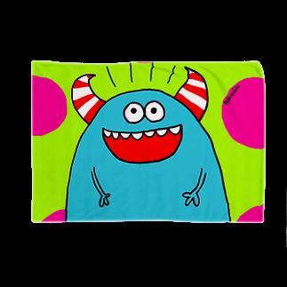 pellonpekkoの青モンスター Blankets