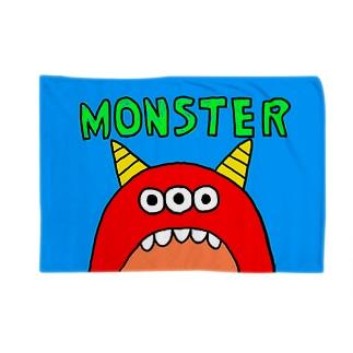 赤モンスター Blankets