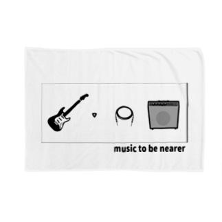 music to be nearer - オンガクヲミジカニ Blankets