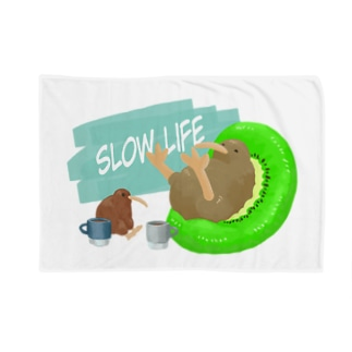 スローライフ Blankets